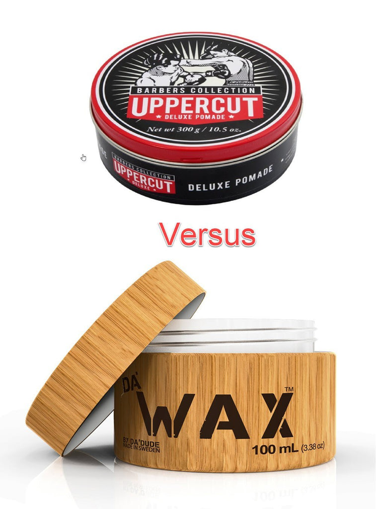 Uppercut Deluxe versus Da'Wax Comparison