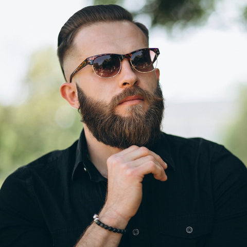 Guy with Short Hair and Beard