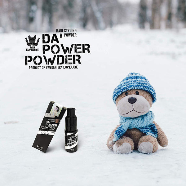 Best Hair Powder for Men | 2 Bottles of Da'Power Powder with 10% Discount and FREE Shipping - Da'Dude By YoungHair
