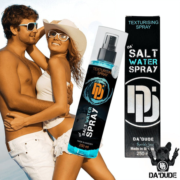 Best Salt Water Spray for Men | 2 Bottles of Da'Salt Water Spray with 10% Discount and FREE Shipping - Da'Dude By YoungHair