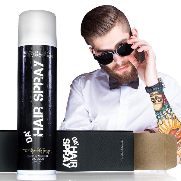 Best Strong Hold Hairspray for Men | 2 Bottles of Da'Hairspray with 10% Discount and FREE Shipping - Da'Dude By YoungHair