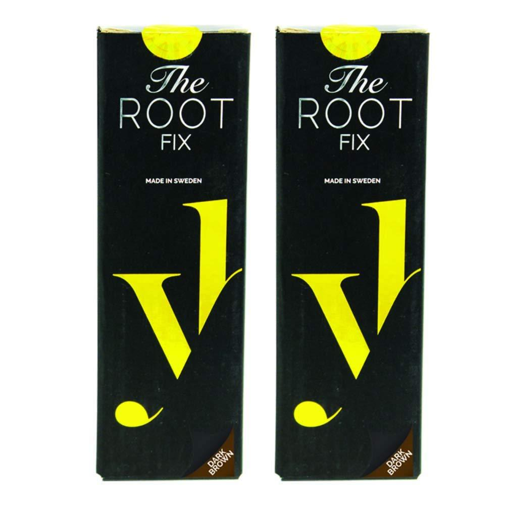 Buy 1 Take 1 OFFER! Hurry - 10 units only! YoungHair 2 PACKS - The Root Fix Dark Brown - Temporary Colour Hair Spray (Quick Fix) - Da'Dude By YoungHair