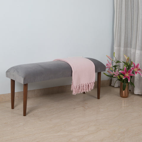Sophia Bench - Silver Grey