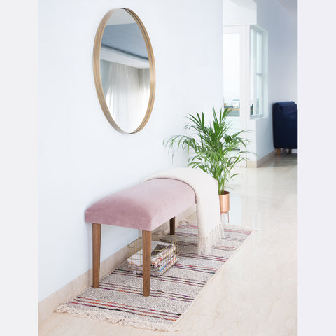 Sophia Bench - Dusty Pink