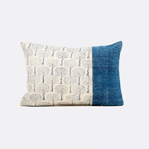 Lexi Rectangular Cushion - Indigo