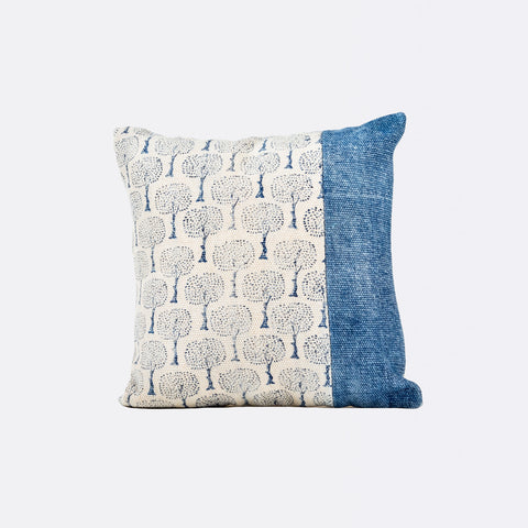 Alexa Square Cushion - Indigo