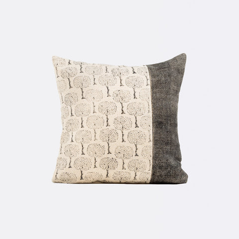 Alexa Square Cushion - Black