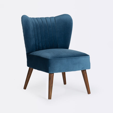Bella Cocktail Chair - Blue