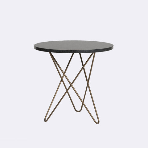 Emma Black Granite Table