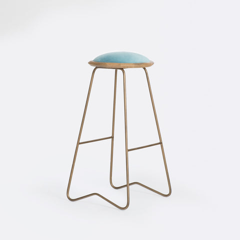 Ezra Bar Stool - Sage Green
