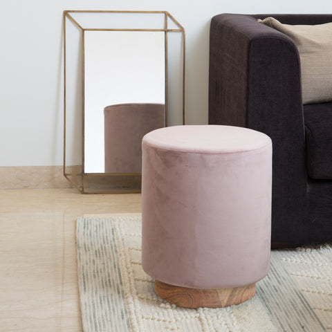 Harriet Pouf - Dusty Pink