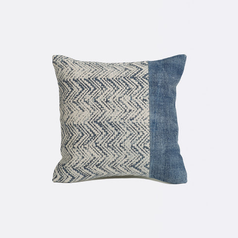 Hart Square Cushion - Indigo