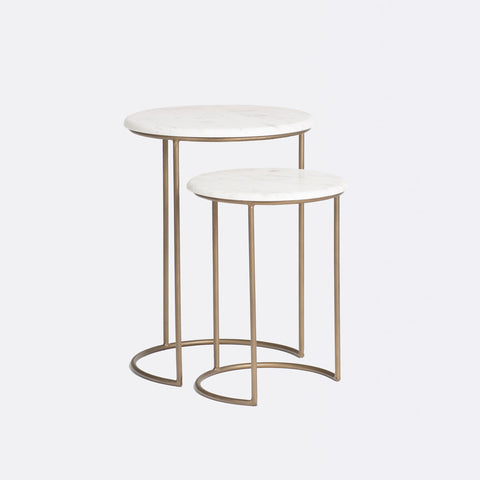 Side tables n square studio harvey marble table antique watchthetrailerfo