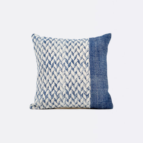 Tilly Square Cushion - Indigo