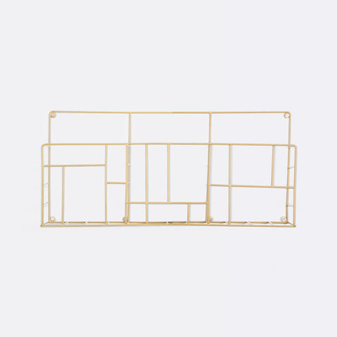 Grid Rack - Gold