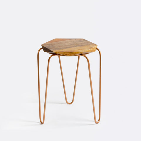 Olivia Table/Stool - Copper