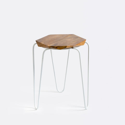 Olivia Table/Stool - White