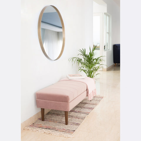 Victoria Bench - Dusty Pink