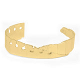 Folded Cuff Narrow Gold