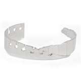Folded Cuff Narrow Silver