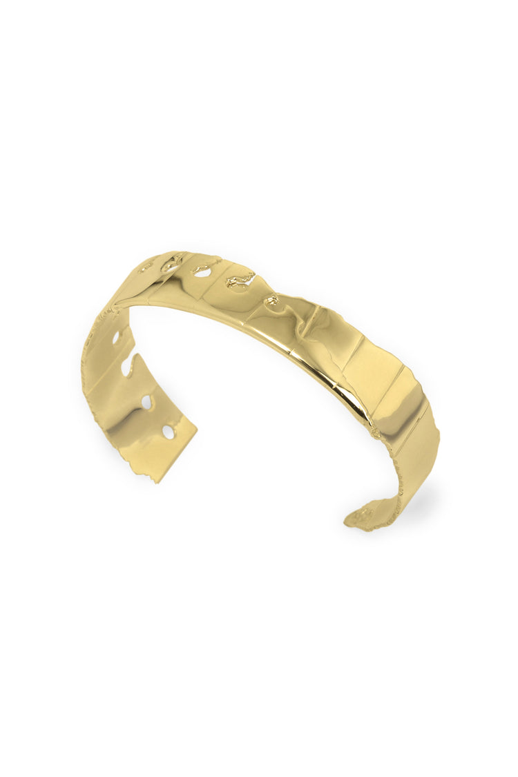 Folded Cuff (Narrow) Gold