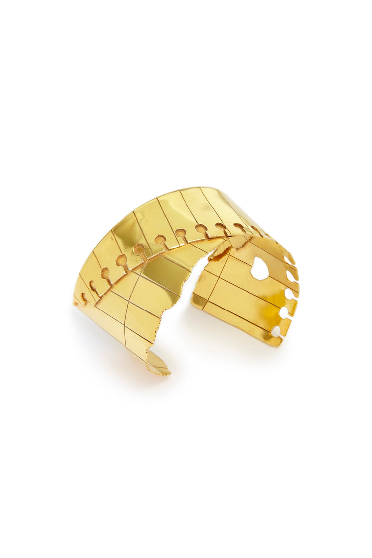 Folded Cuff (Wide) Gold