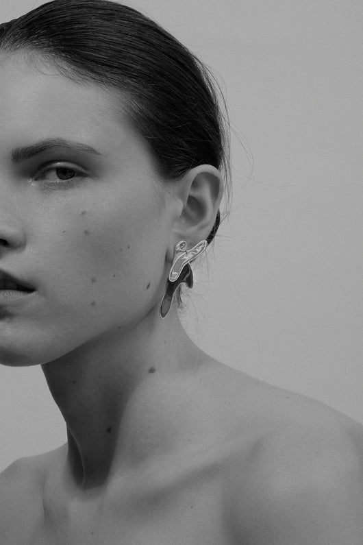 Icarus Earrings Silver