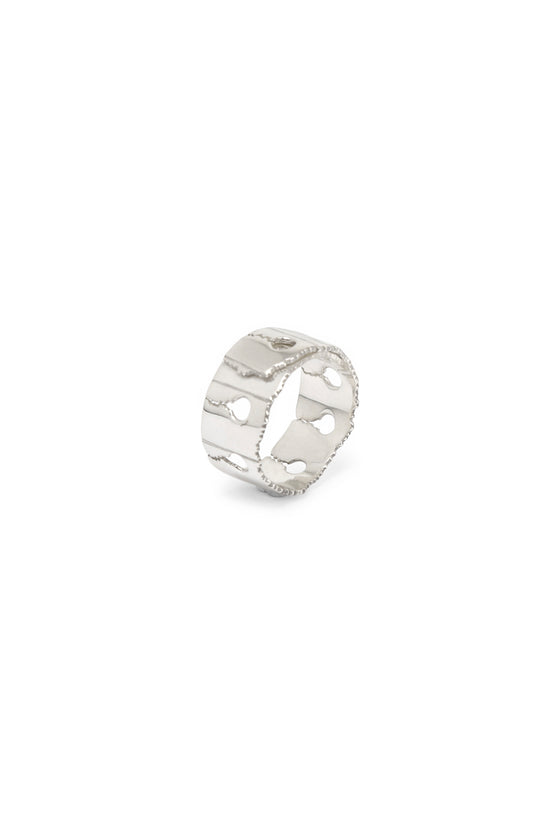 Verso Ring Narrow Silver