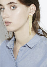 Asymmetric Earrings Gold