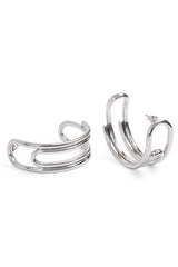 Curled Hoops (Large)