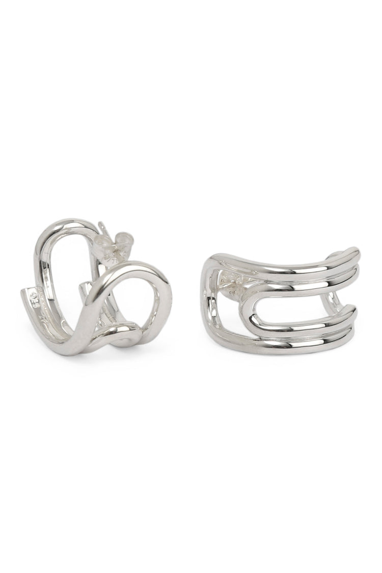 Curled Hoops (Small)