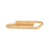 Paperclip Tie Bar Gold