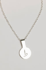 Urdu Round Tag Necklace