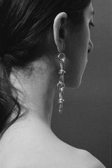 Hourglass Chain Earrings
