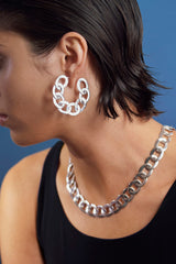 Flat Iron Hoops (Small)