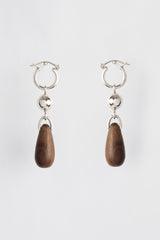Rosewood Drop Earrings