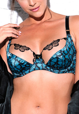 Tattoo Butterfly underwired bra