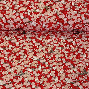 100% Cotton Japanese Foil Print - The Fabric Counter