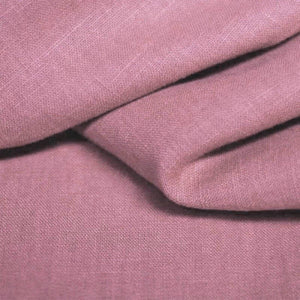 100% Linen - Old Mauve - The Fabric Counter