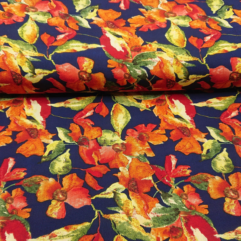 100% Polyester Print - The Fabric Counter