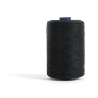 1,000m Thread - Black - The Fabric Counter
