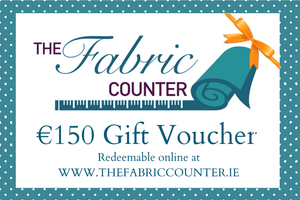 €150 Gift Voucher - The Fabric Counter