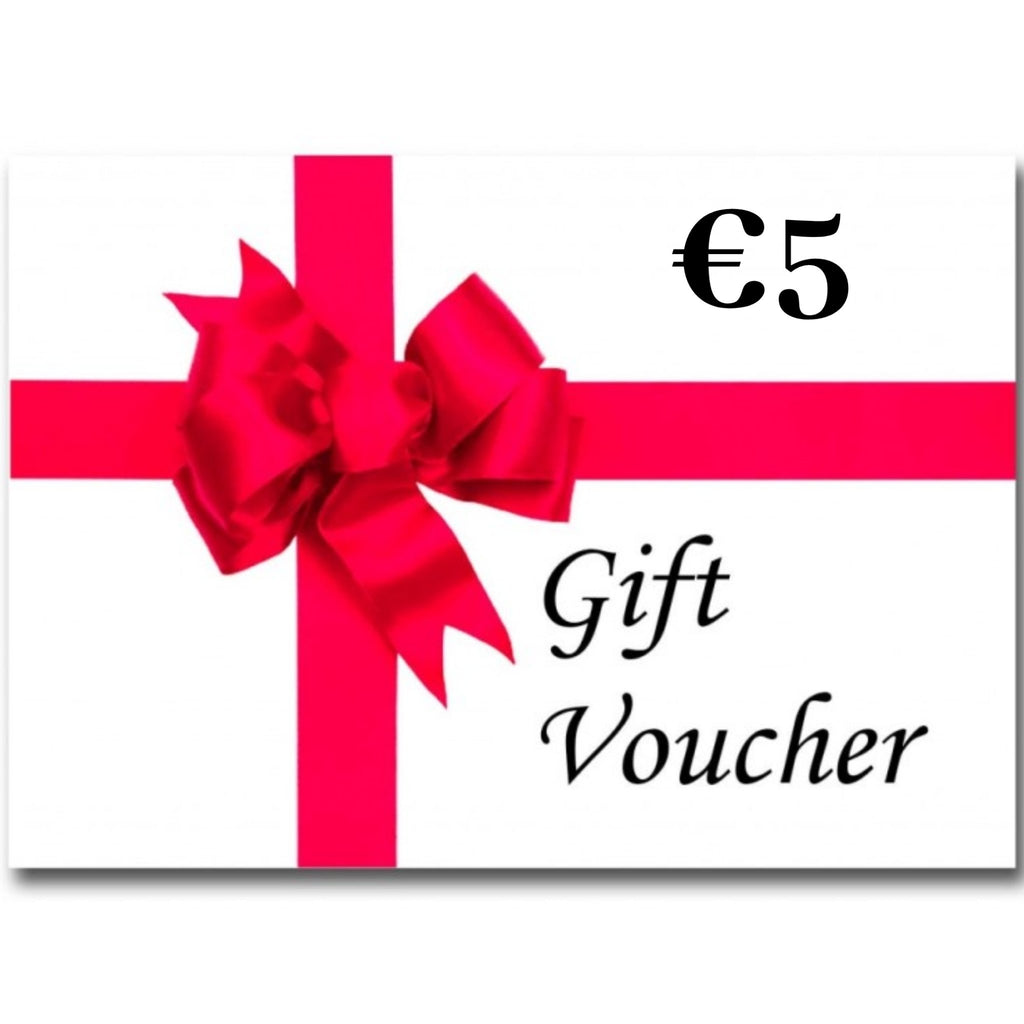 €5 Gift Voucher (Electronic) - The Fabric Counter