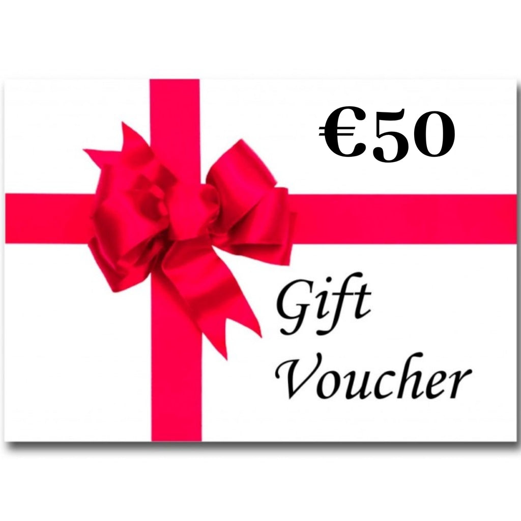 €50 Gift Voucher (Electronic) - The Fabric Counter