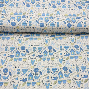 Love Bird Cotton Print