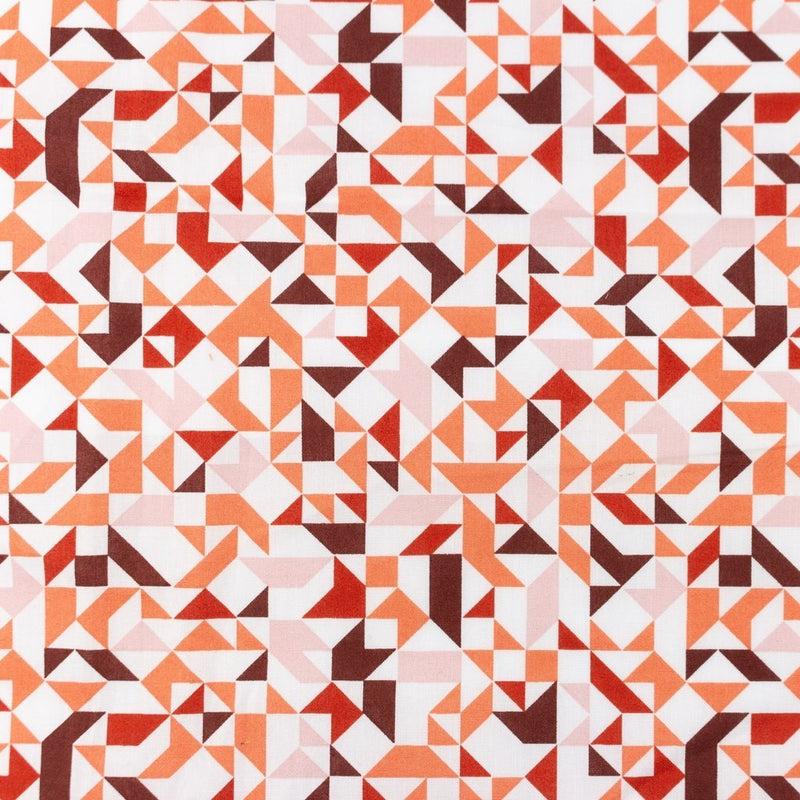 Abstract Cotton Print - The Fabric Counter