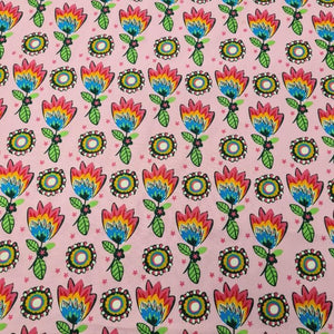 Abstract Print Cotton - The Fabric Counter