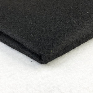Acrylic Felt - Black - The Fabric Counter