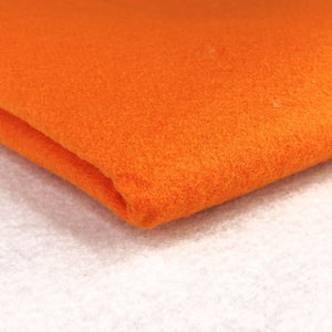 Acrylic Felt - Orange - The Fabric Counter