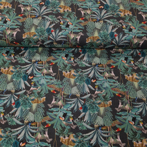 Animal Digital Cotton Print - The Fabric Counter